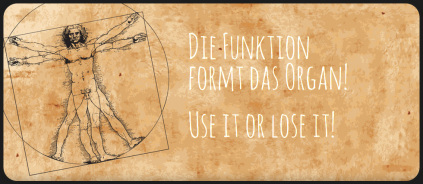 Die Funktion formt das Organ! Use it or lose it! - Henning Kanitz - Training & Therapie